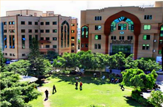 The Islamic University of Gaza City as it was before it was destroyed on August 2, 2014.