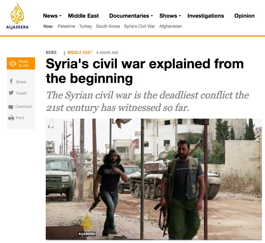 aljazeera s explanation of syria and its commenting policy jan oberg